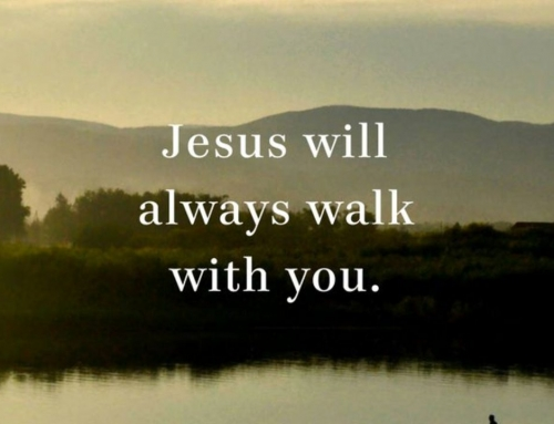 Jesus Walks With You